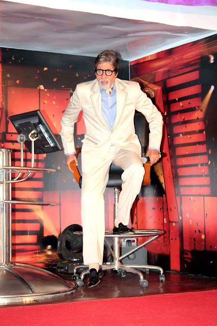 Amitabh Bachchan at 'Kaun Banega Crorepati 7' press meet