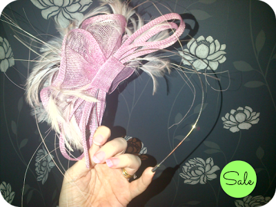 Fascinator sale item