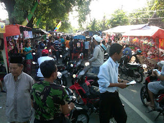 Haul KH Syafii Raya Pongangan Macet