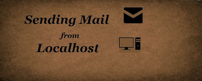 Sending Mail from Localhost