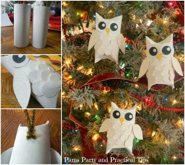 Decorazioni natalizie con materiali riciclati - Decorazioni di natale con materiale riciclato ...