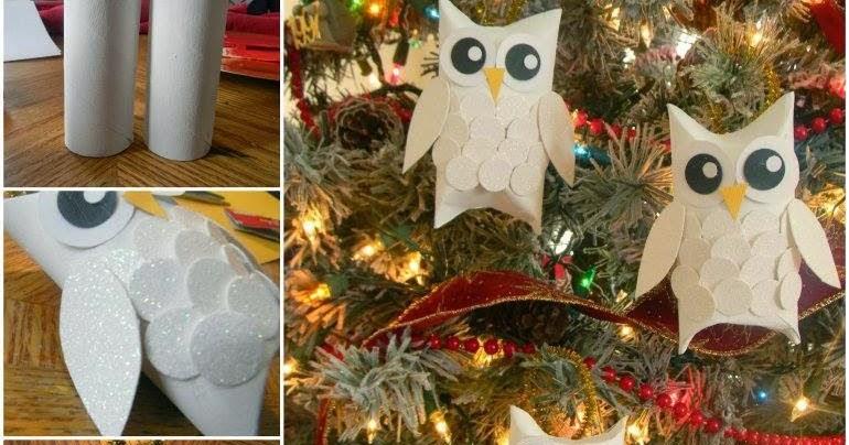 Decorazioni natalizie con materiali riciclati - Decorazioni natalizie in cartoncino ...