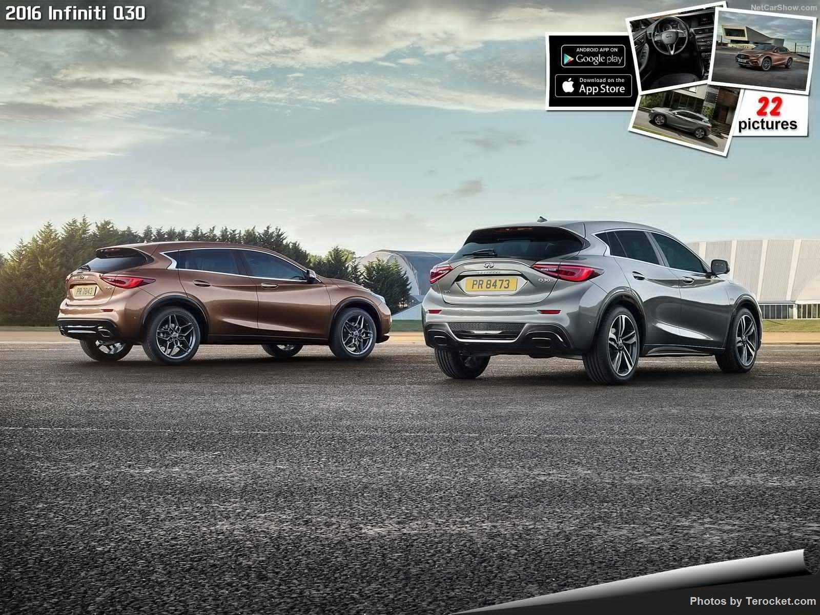 Hình ảnh xe ô tô Infiniti Q30 2016 & nội ngoại thất