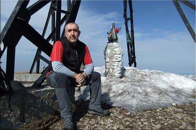 Gorbeia mendiaren gailurra 1.481 m. -- 2012ko martxoaren 2an