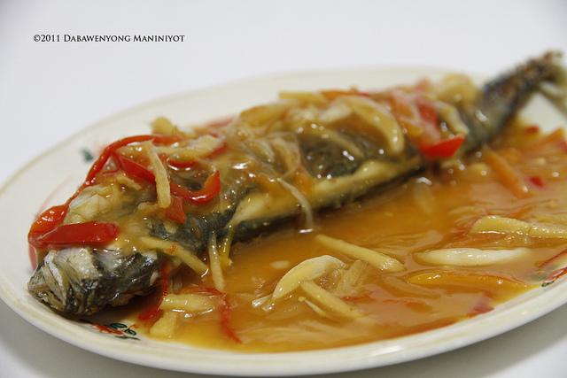 Fish escabeche filipino foods and recipes pinoy foods for Fish escabeche recipe