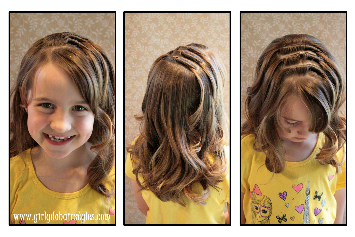 Girly Do Hairstyles: By Jenn: Long Knot Hairstyle