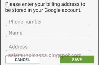Cara Membeli aplikasi di Google Play Store dengan pulsa HP