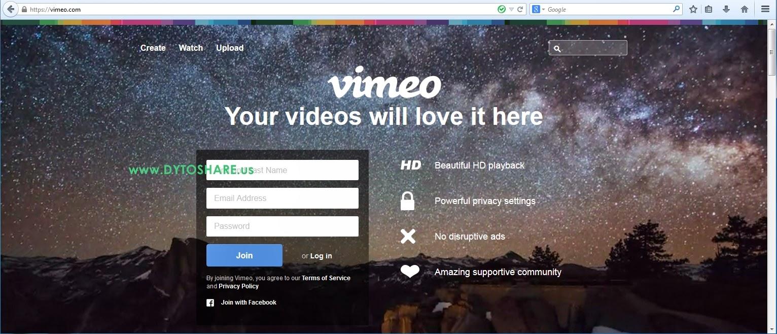 Cara akses Vimeo.com yang di Blokir oleh ISP