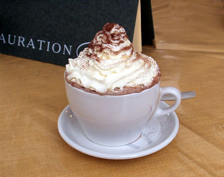 Coffee with Whip Cream.