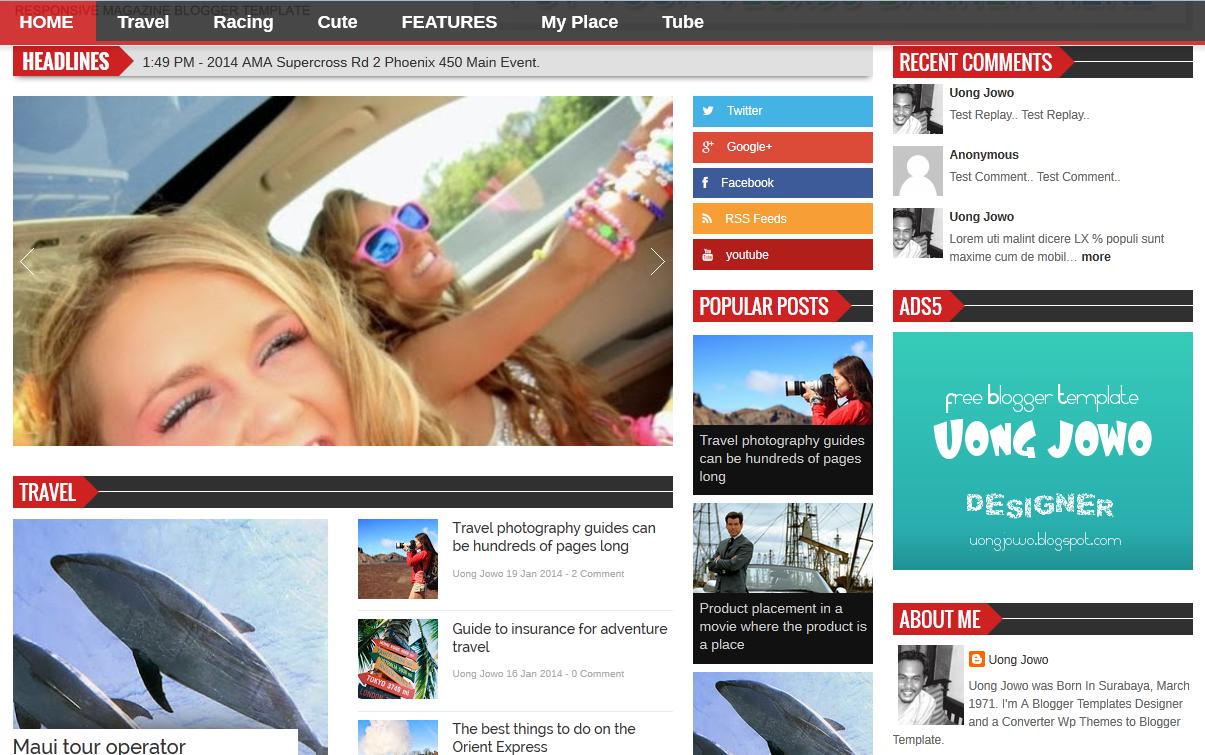 Tolle Zeitschrift Blogger Vorlage Bilder - Beispielzusammenfassung ...