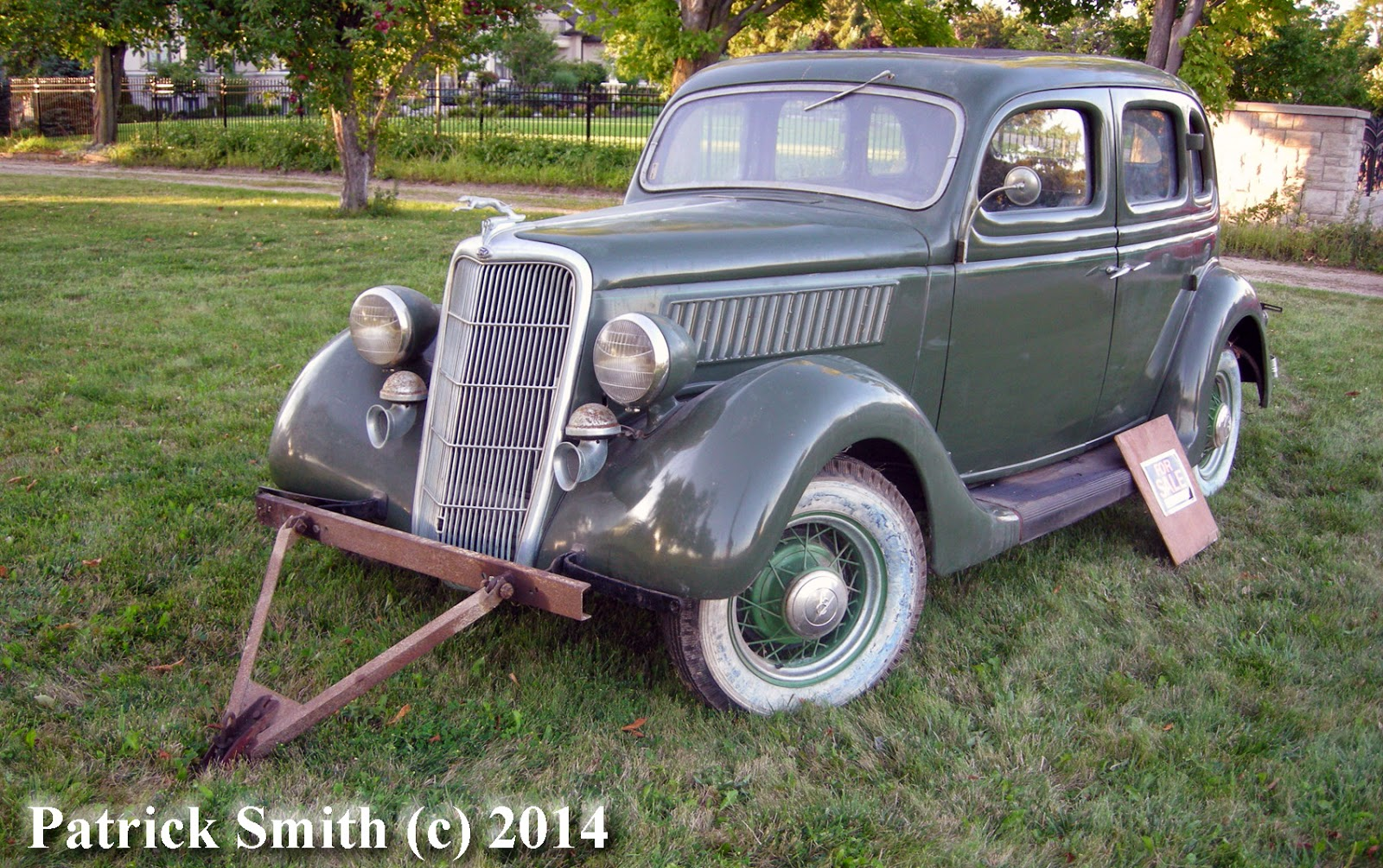 As Found Series 1935 Ford Deluxe Sedan Barn Find Ignition Wiring Diagram This Was On Someones Front Lawn For Sale Amazing