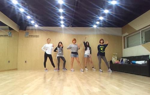 """คลิป Wonder Girls ซ้อมเต้นสุดจี๊ดจ๊าด ในเพลง """"Like This"""""""