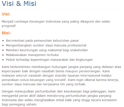 Visi dan Misi Bank Mandiri Bank Terbaik di Indonesia
