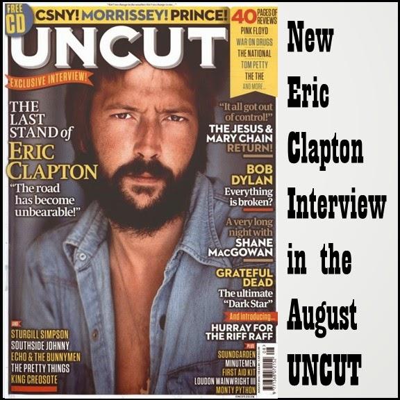 Eric Clapton - Uncut - cover