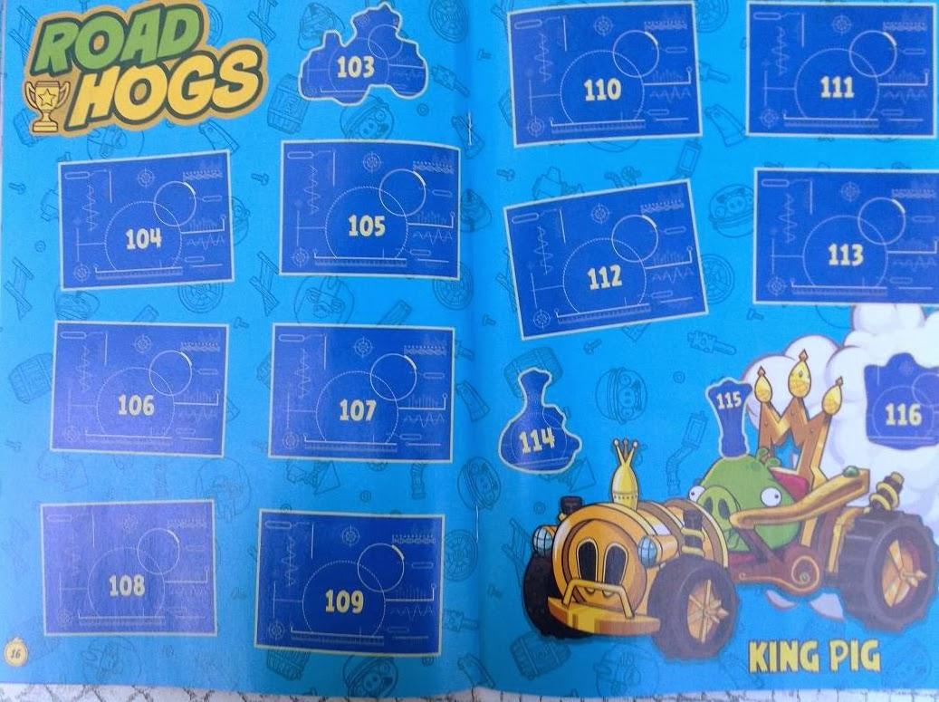 Angry Birds Go! Páginas Interiores