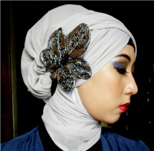 trend fashion: trend hijab turban