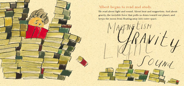 Creative Courage for Young Hearts 15 Emboldening Picture Books Celebrating the Lives of Great Artists, Writers, and Scientists - ALBERT EINSTEIN