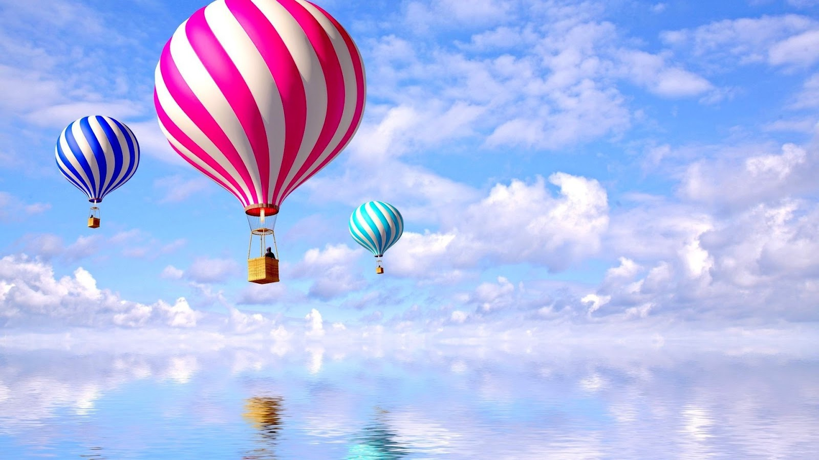 balloons background wallpaper-#18