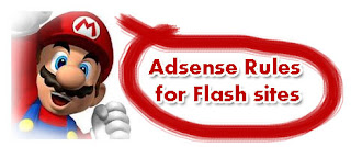 Adsense on flash sites