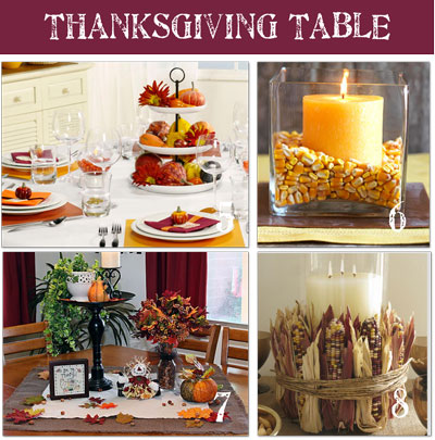 11 thanksgiving table setting ideas directions on how to Thanksgiving table decorations homemade