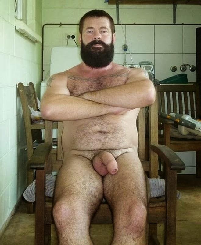 Daddy bear huge cock