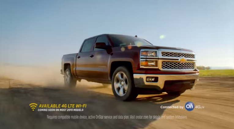 Chevrolet's #TheNewIndependence 4G LTE Wi-Fi Commercials