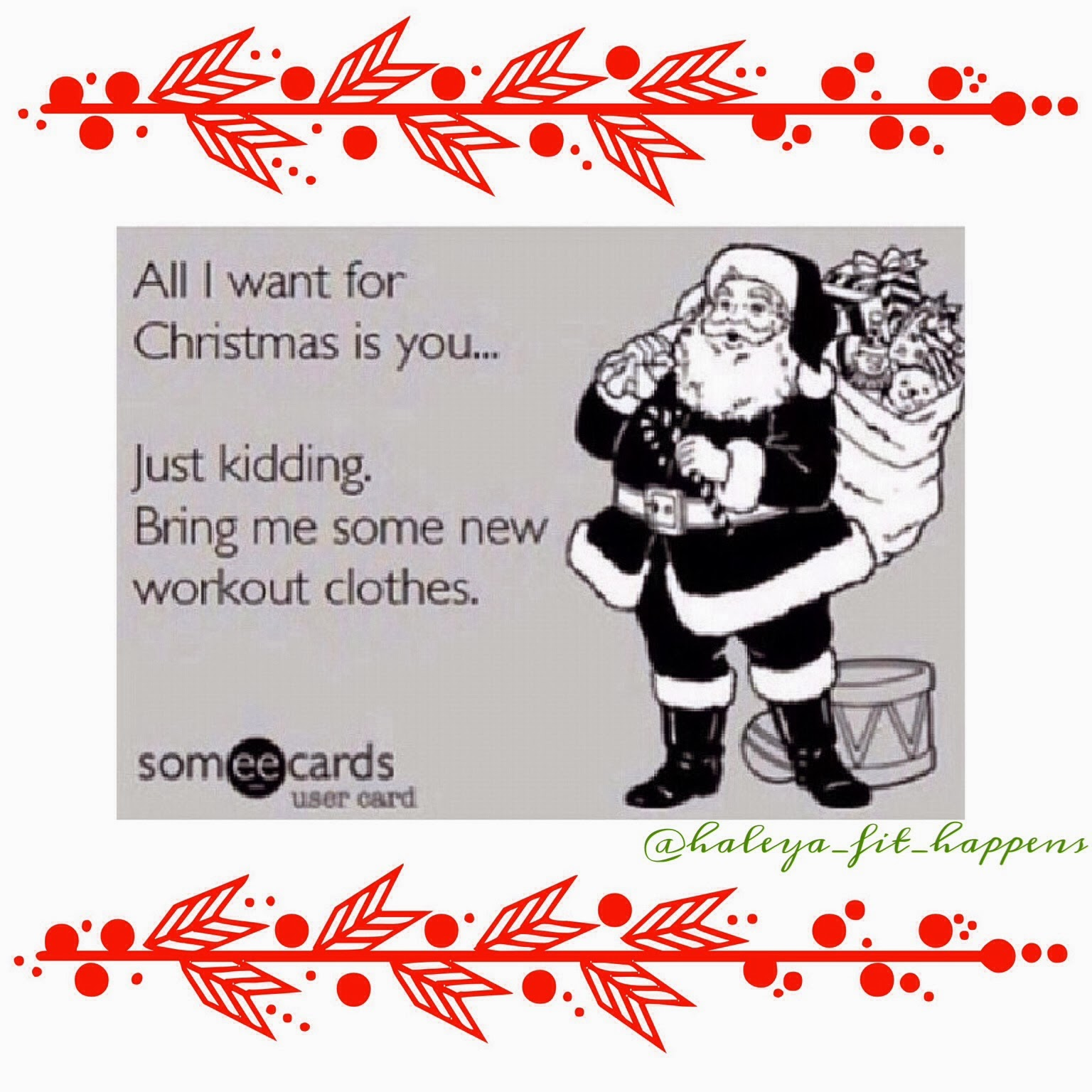 Fit Happens: All I Want For Christmas.....
