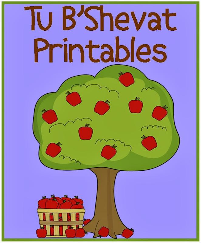 Tu B'Shevat Printables title=