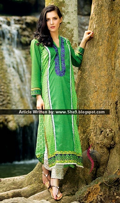 Best Lawn Kurtis for Young Girls