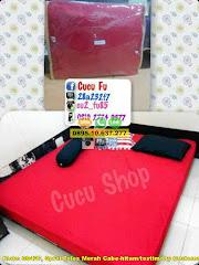 Harga Sprei Polos Merah Cabe-hitam/testimony Customer/uk Jual