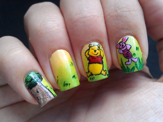 Nailartinc Winnie The Pooh Nailart