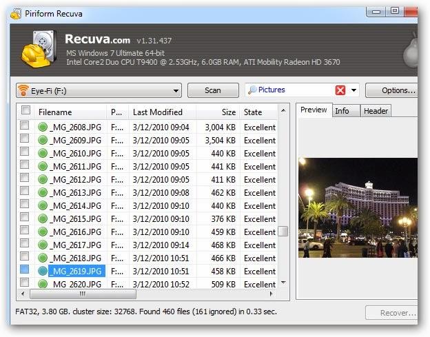 برامج استعادة الملفات لمحذوفة