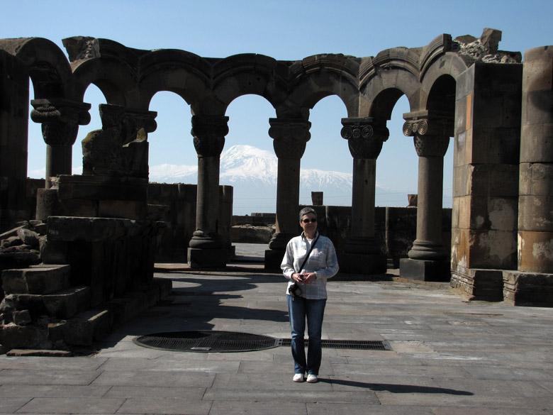 Armenia, catedral de Zvartnots