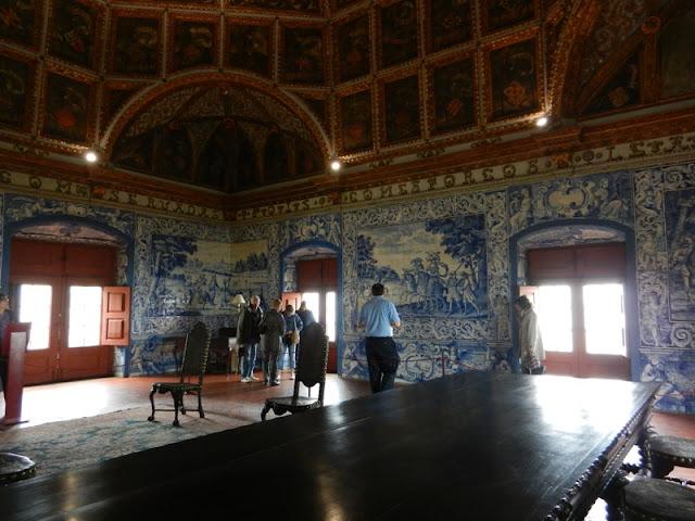 ажулешу Королевский дворец Синтры