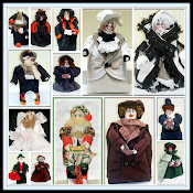 Victorian Holiday Dolls