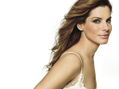 SANDRA BULLOCK HOLLYWOOD celebrities WALLPAPER LOOK GORGEOUS SWEET BLUE EYE