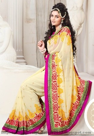 Bridal-Sarees-for-Parties-2013