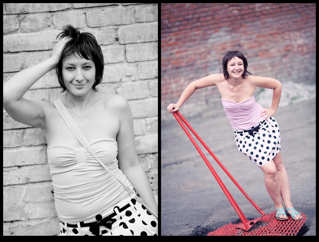 Портет фотографа…Настя и Маша
