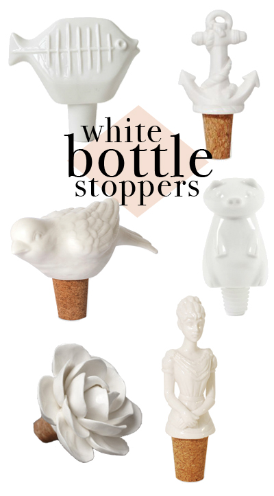 Bottle stoppers make great gifts when going to a dinner party or wedding