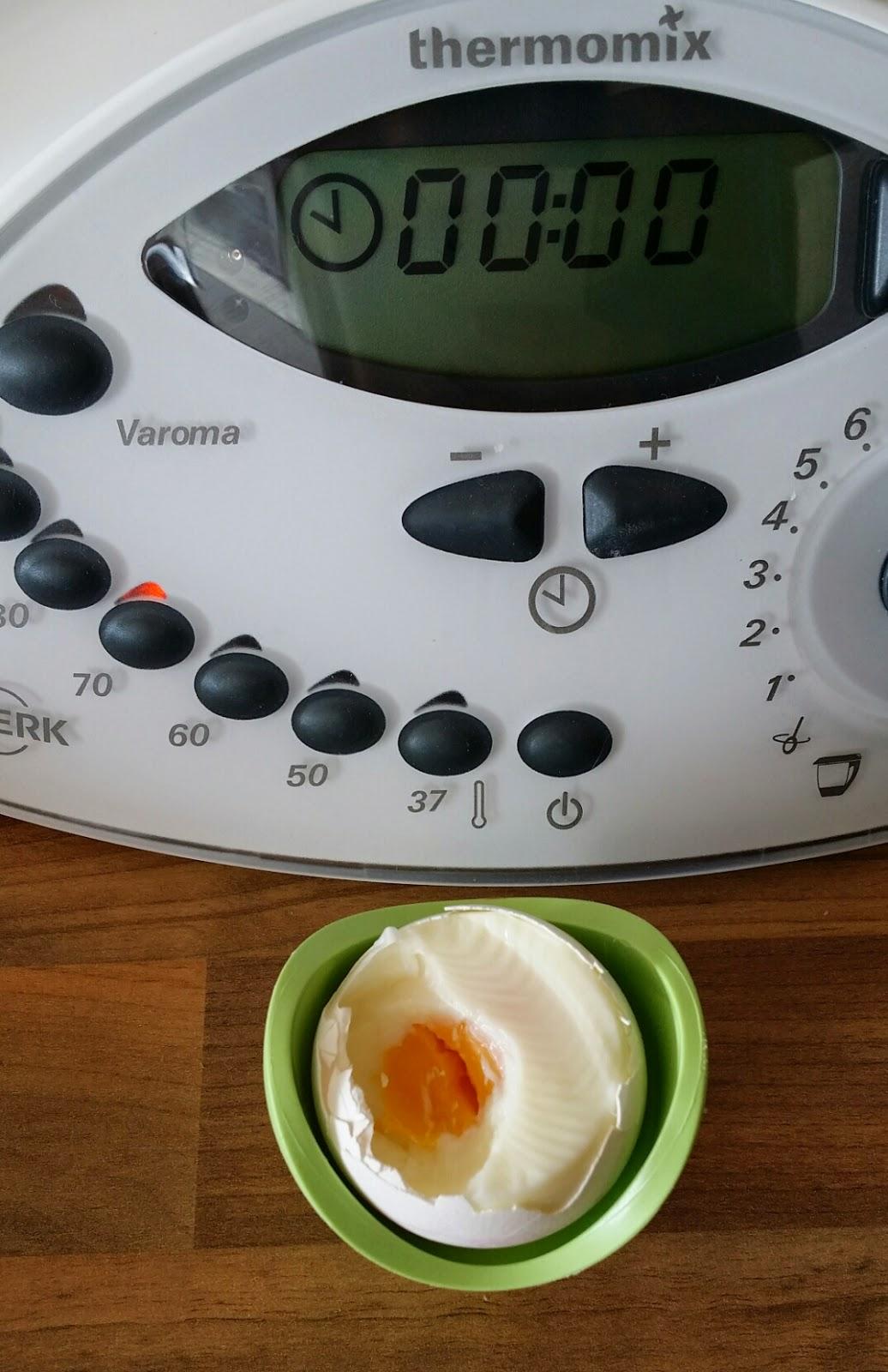 Nicki 39 s zuckertr ume eier kochen im thermomix - Eier weich kochen minuten ...