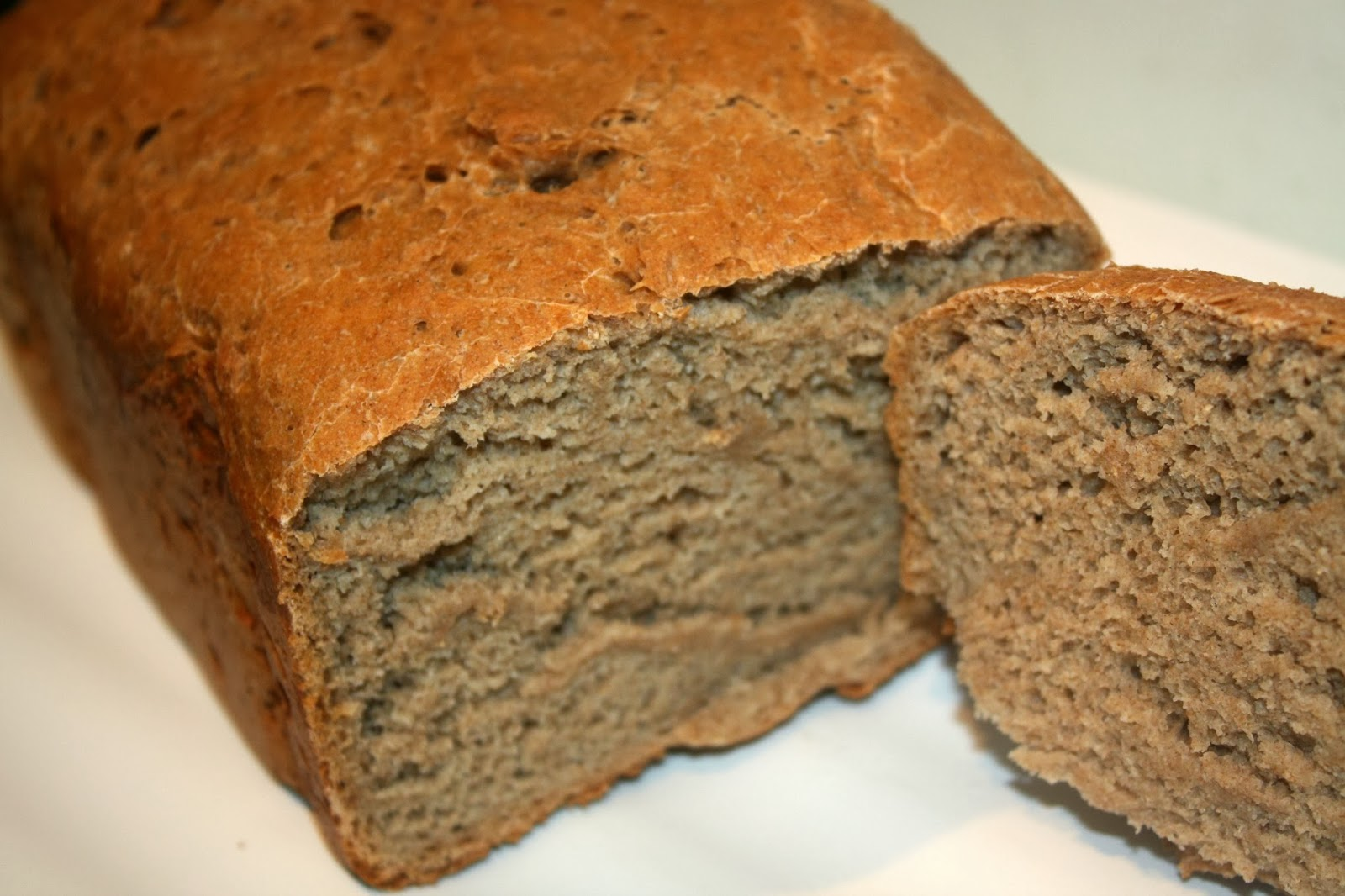 wholemeal and rye bread
