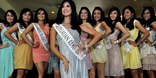 CALON PEMENANG MISS INDONESIA 2011