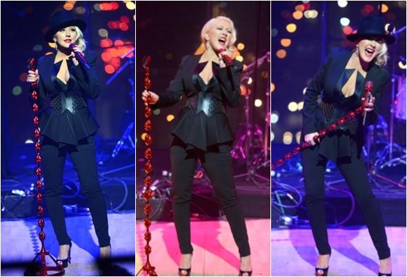Música feita com os gritos da Christina Aguilera 2013