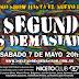 1 Segundo es Demasiado toca en Niceto y graba para un futuro CD / DVD en vivo