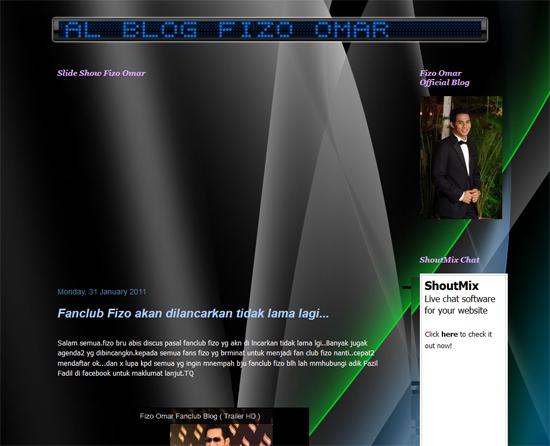 Blog Fizo Omar