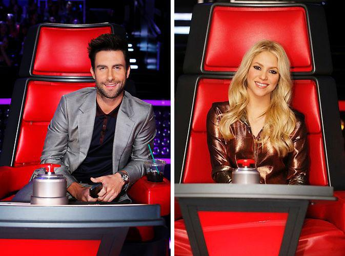 Team Adam and Team Shakira on The Voice Season 4
