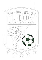 CLUB LEON F C PARA COLOREAR