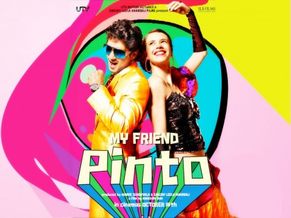 My Friend Pinto (2011) DVD