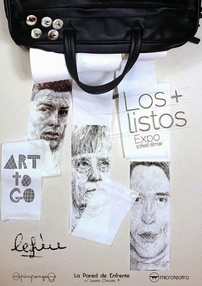 """""""la Pared"""",""""microteatro"""",""""pinpongo"""",""""art"""",""""art to go"""",""""is pain"""",""""por dinero"""",""""dibujo"""",""""retrato"""",""""wert"""",""""Antonio López"""", """"papel higiénico"""",""""papel de baño"""",""""chapas"""""""