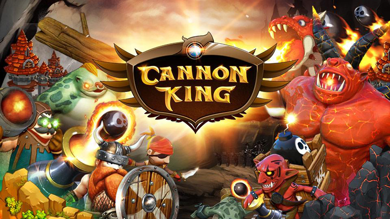Cannon King Gameplay IOS / Android